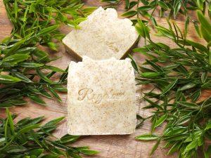 Naturalne mydło z oliwkowym peelingiem
