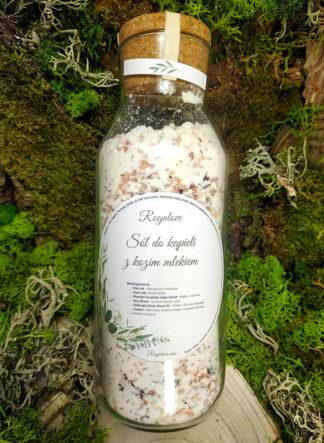 Sól do kąpieli z kozim mlekiem - Rogalove